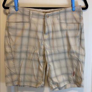 Avia Nylon Blend Checkered Women's Golf Shorts